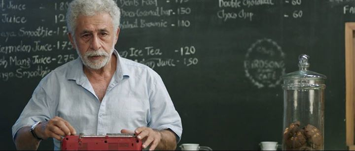 Naseeruddin Shah in Int-Cafe-Night, one of the films being screened on the day.